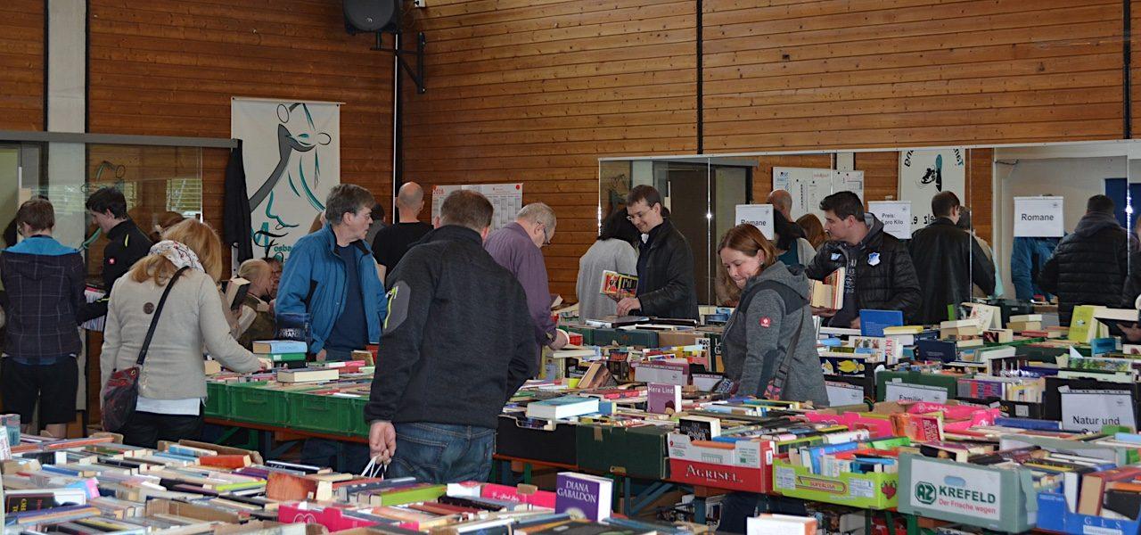 DLRG-Mosbach macht wieder Bücherflohmarkt