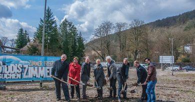 Bau des Studierendenwohnheims in Mosbach begonnen